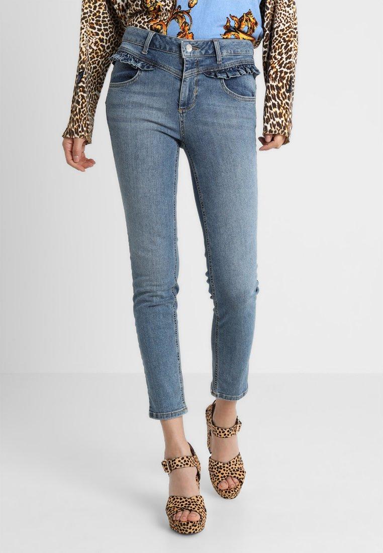 Liu Jo Jeans - MILKSHAKE HIGH WAIST - Vaqueros slim fit - blue denim
