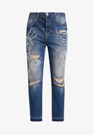 Jeans a sigaretta - blue paradise