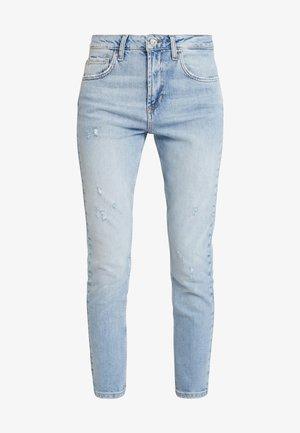 CUTE HIGH WAIST - Jeans Skinny - blue
