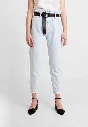 PANT CANDY - Jeans baggy - denim blue bleach wash