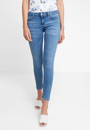 FABULOUS - Jeans Skinny Fit - denim blue super wash