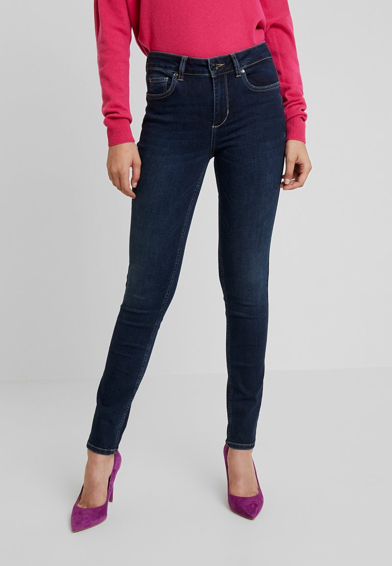 Liu Jo Jeans - DIVINE HIGH WAIST - Jeans Skinny Fit - blue reality