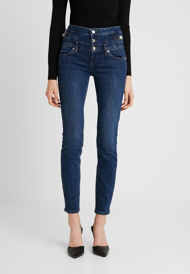 Liu Jo Jeans - RAMPY HIGH WAIST - Vaqueros slim fit - blue event wash