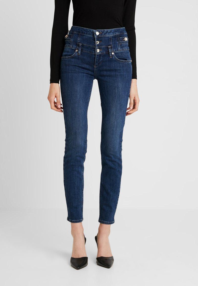 Liu Jo Jeans - RAMPY HIGH WAIST - Slim fit jeans - blue event wash