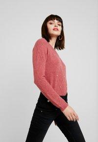 Liu Jo Jeans - RAMPY HIGH WAIST - Slim fit jeans - black - 3