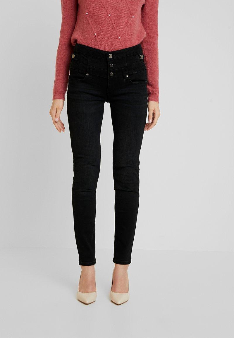 Liu Jo Jeans - RAMPY HIGH WAIST - Slim fit jeans - black