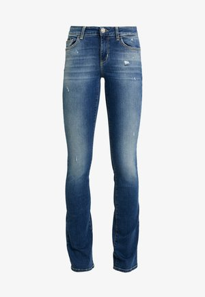 UP REPOT REG - Bootcut jeans - wash
