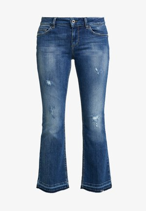 UP GLAM REG - Jeansy Bootcut - ground wash