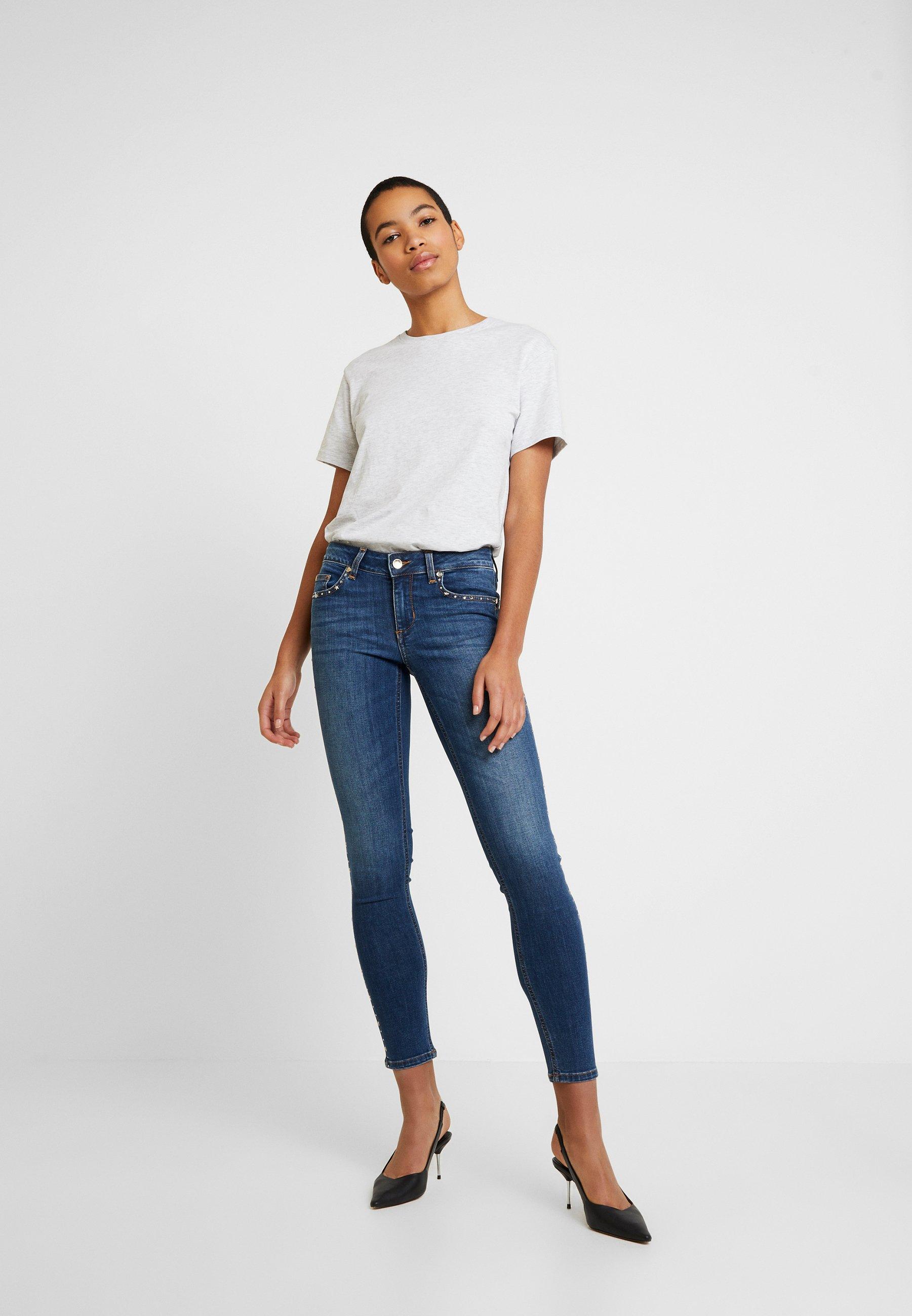 Liu Jo Jeans DIVINE - Jeans Skinny Fit - explosion wash
