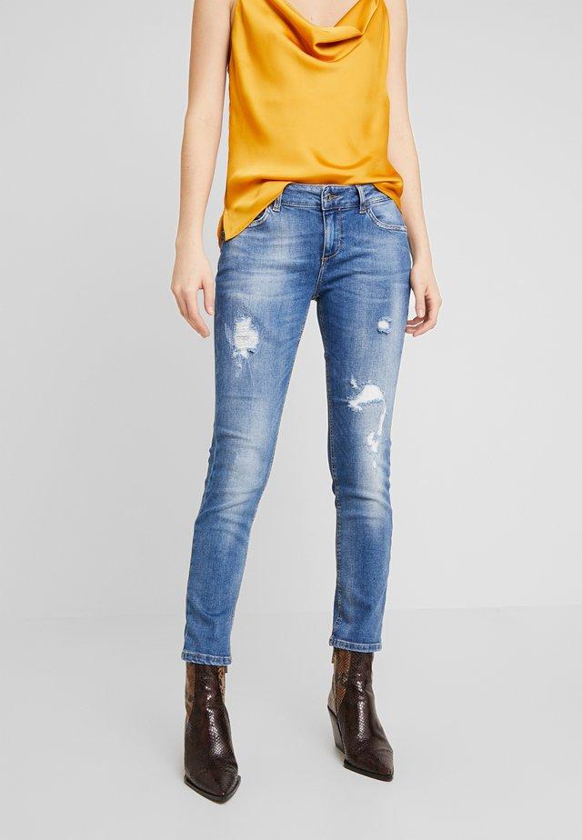MONROE - Jeans Skinny Fit - blue globe