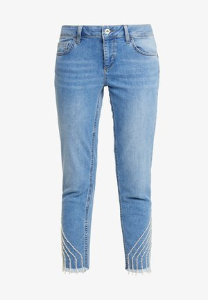 UP FREE PRETTY - Jeansy Slim Fit - blue