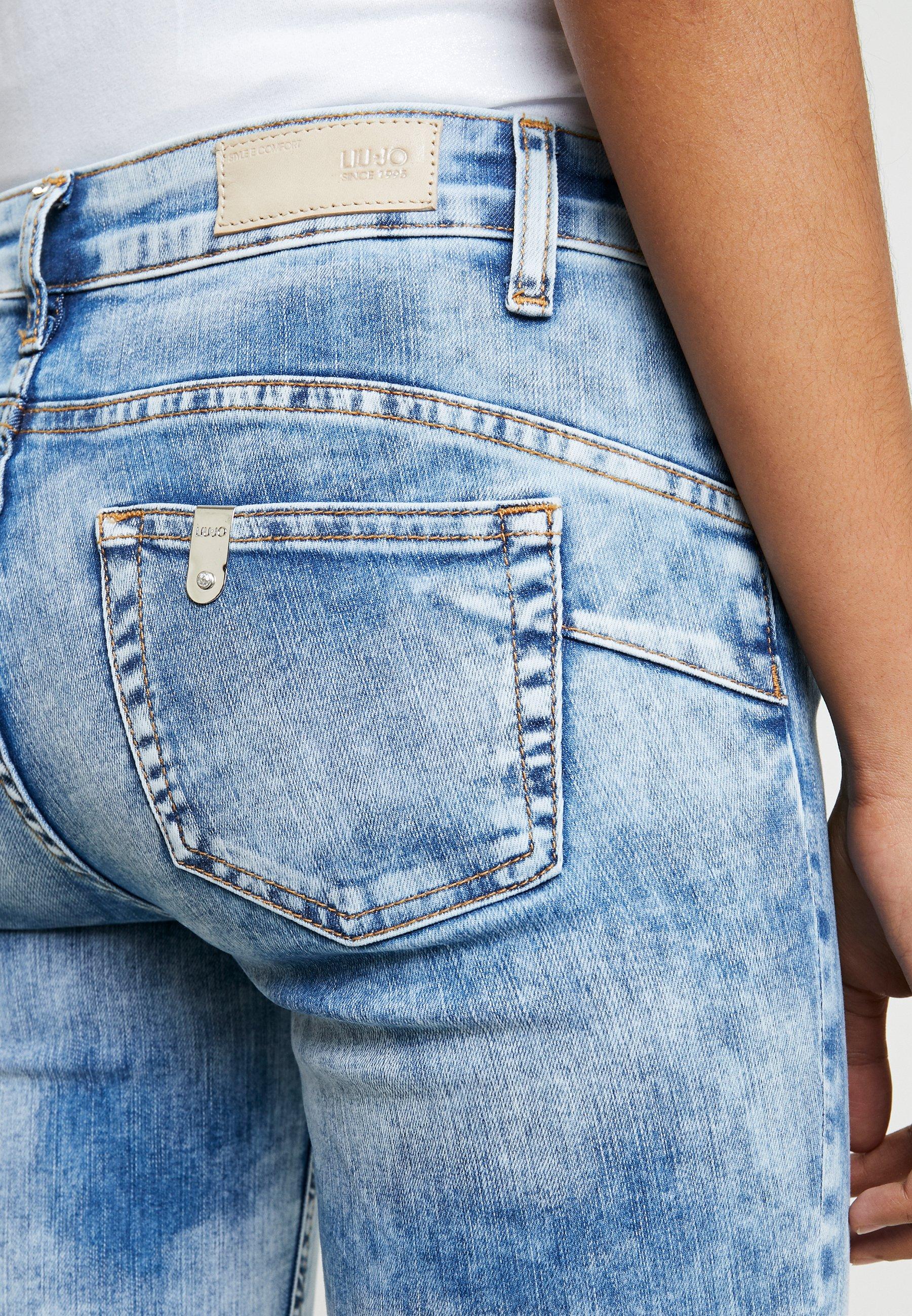 Liu Jo Jeans New Ideal - Skinny Fit Denim Blue