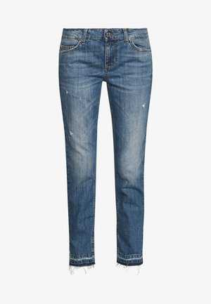 NEW IDEAL - Jeans Skinny Fit - stone blue denim
