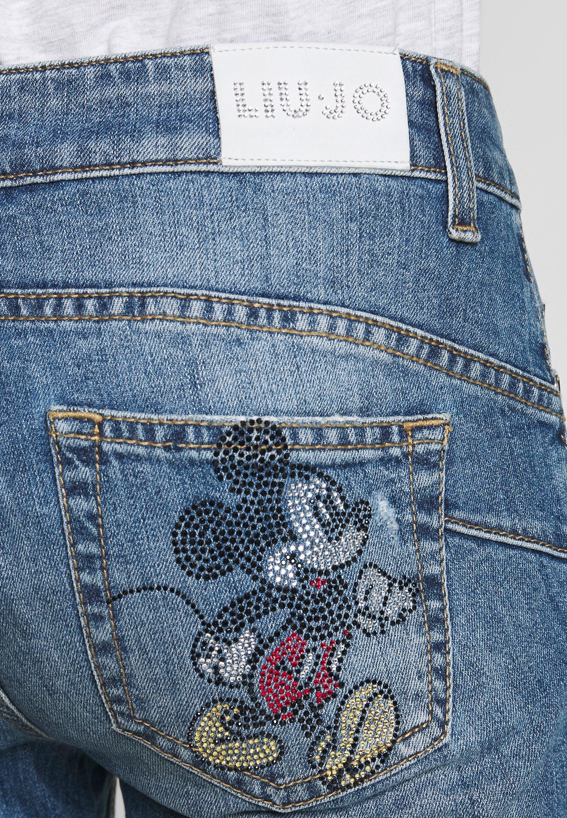 Liu Jo Jeans NEW IDEAL - Jeansy Skinny Fit - stone blue denim
