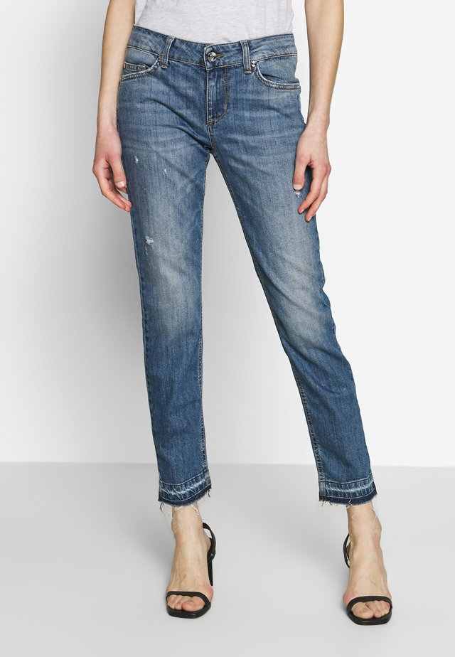 NEW IDEAL - Jeansy Skinny Fit - stone blue denim