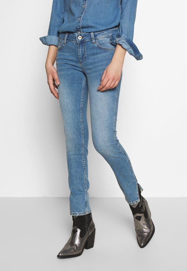 UP SWEET - Jeansy Skinny Fit - blue