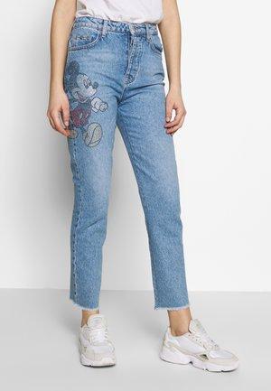 Slim fit jeans - denim blue wash