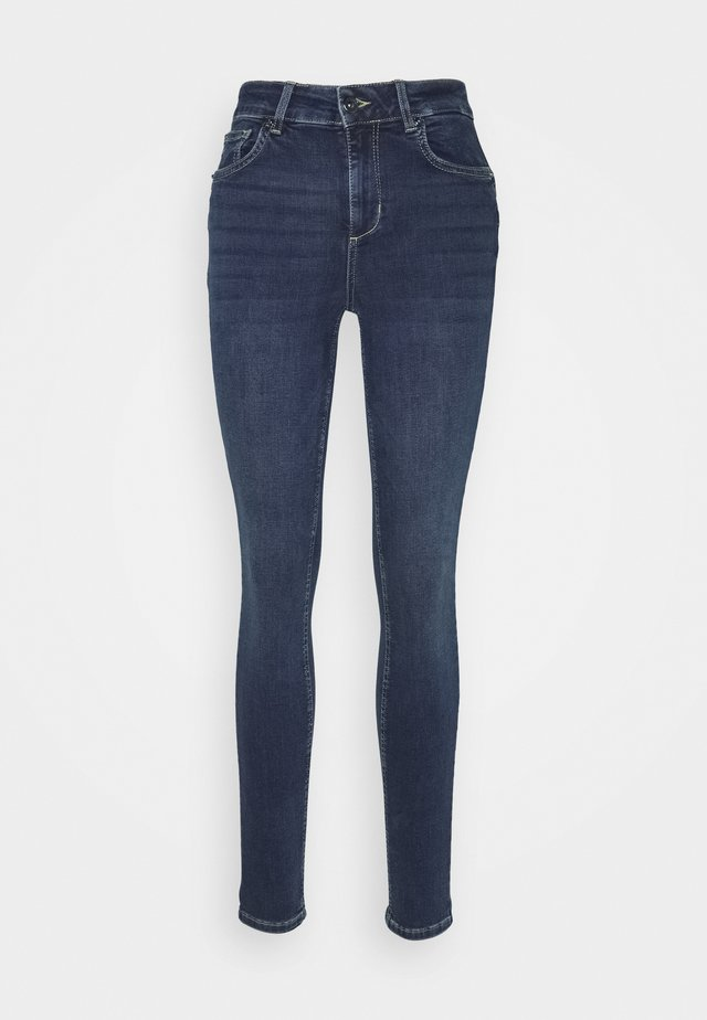 DIVINE - Jeans Skinny Fit - denim blue arboga wash