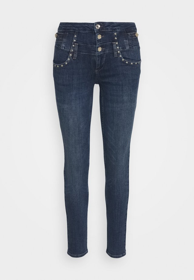 RAMPY - Slim fit jeans - denim blue event wash