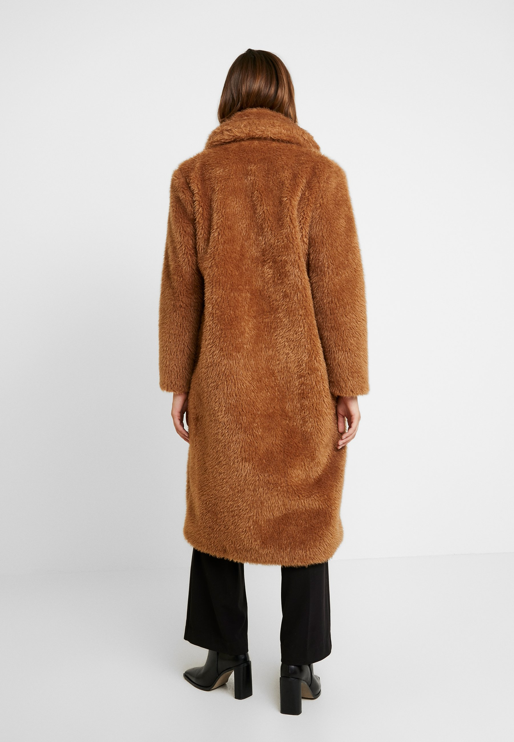 Liu Jo Jeans GIACCONE SINTETICO - Cappotto invernale sweet caramel