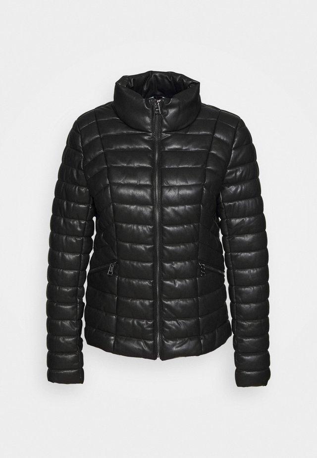 IMBOTTITO OVATT CORT - Faux leather jacket - nero