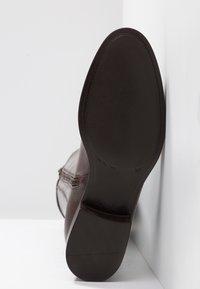 Lamica - PASQUALINA - Boots - macchiato/testa di moro - 6