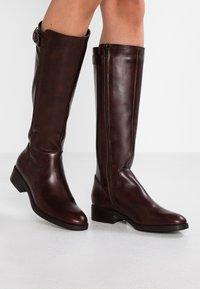 Lamica - PASQUALINA - Boots - macchiato/testa di moro - 0
