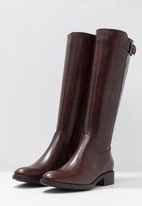 Lamica - PASQUALINA - Boots - macchiato/testa di moro - 4