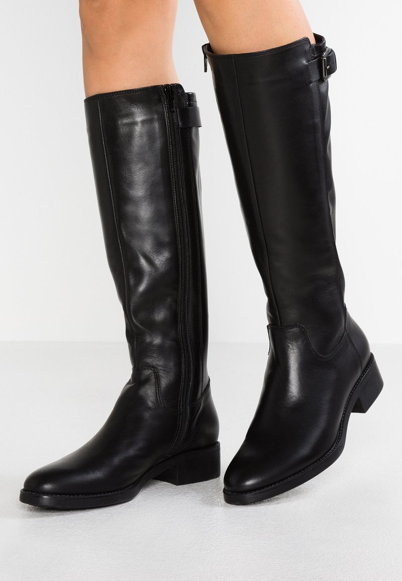 Lamica - PASQUALINA - Boots - seta nero/brummello nero