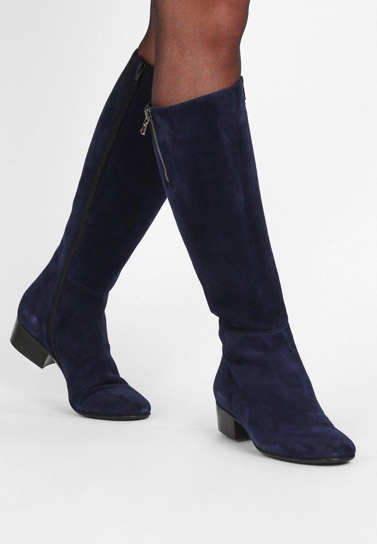 Lamica - TESA - Boots - camoscio abisso