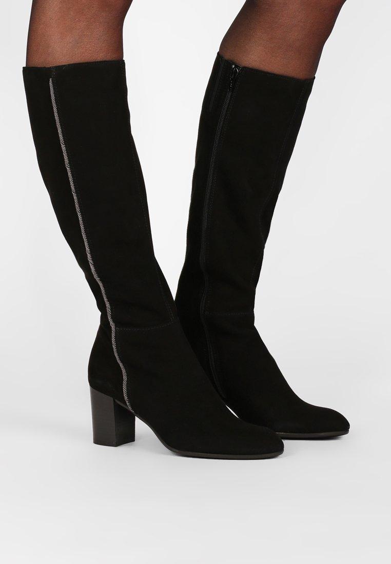 Lamica - Boots - camoscio nero