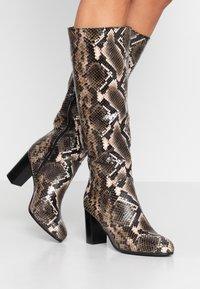 Lamica - GABIA - Boots - pitone bosco - 0