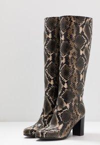 Lamica - GABIA - Boots - pitone bosco - 4