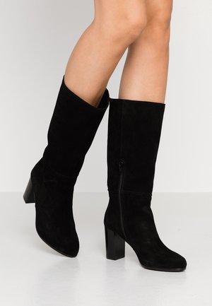 GAETANA - Vysoká obuv - nero