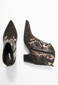 Lamica - USELE - Ankle boots - kaky/bosco - 3