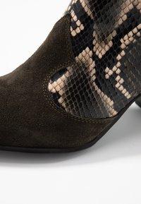 Lamica - USELE - Ankle boots - kaky/bosco - 2