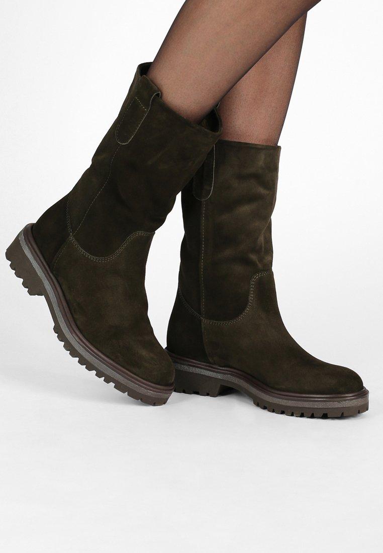 Lamica - OLIO - Boots - kaky