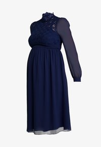 Little Mistress Maternity - SACHA LONG SLEEVE MIDI DRESS - Sukienka koktajlowa - navy - 4