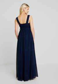 Little Mistress Maternity - EXCLUSIVE ROSE V NECK DRESS - Suknia balowa - navy - 3