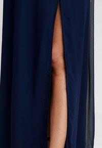 Little Mistress Maternity - TRIM MAXI DRESS - Robe longue - navy - 6