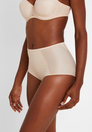 INSOUPÇONNABLE HIGH CUT BRIEF - Alushousut - nude