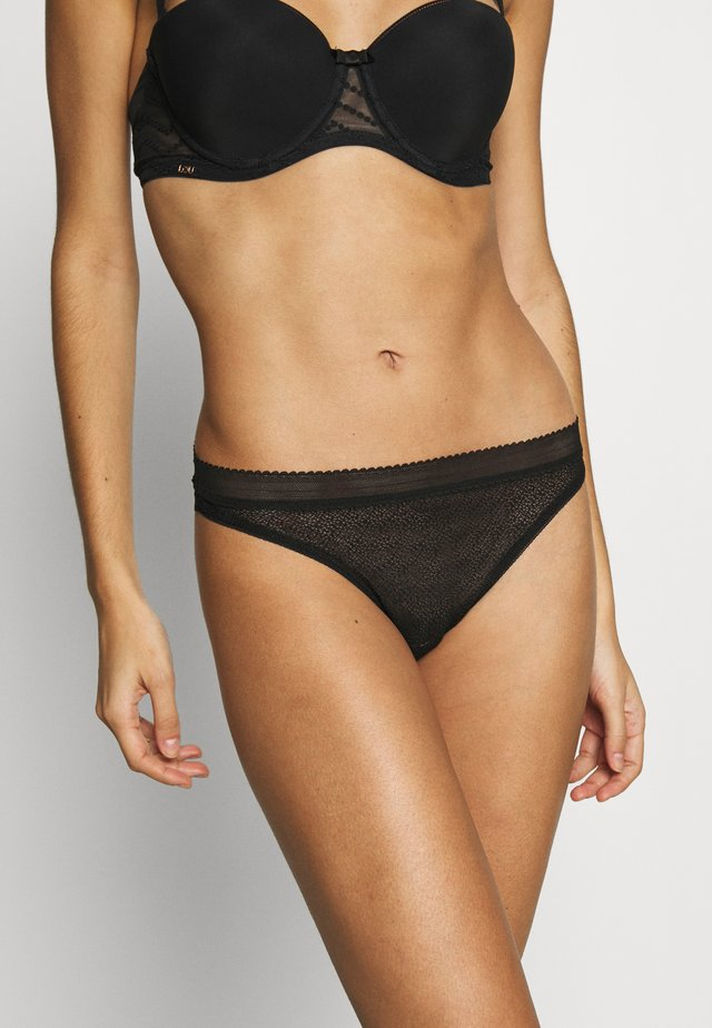HYPNOSE THONG - Stringit - noir sublime