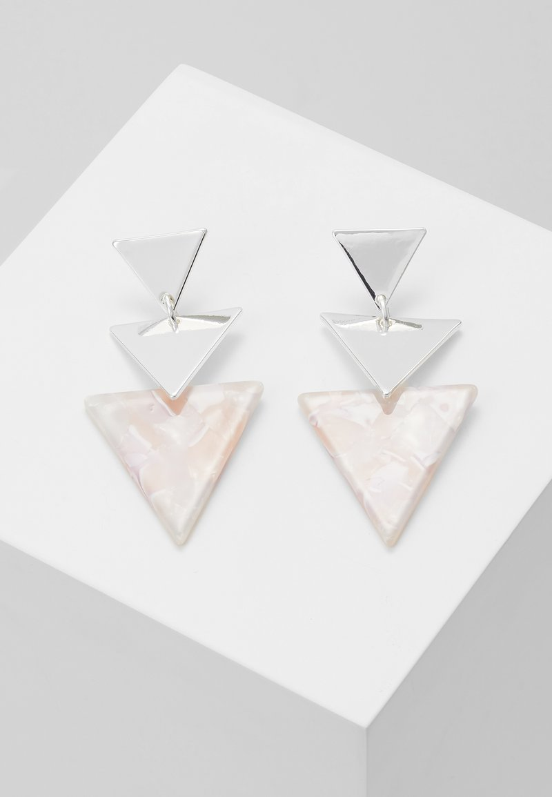 Leslii - Earrings - silver-coloured