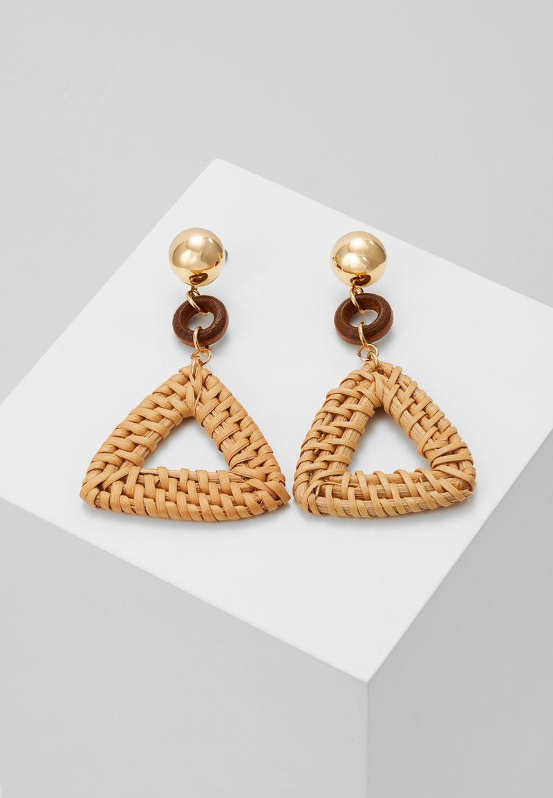 Leslii - Earrings - gold-coloured