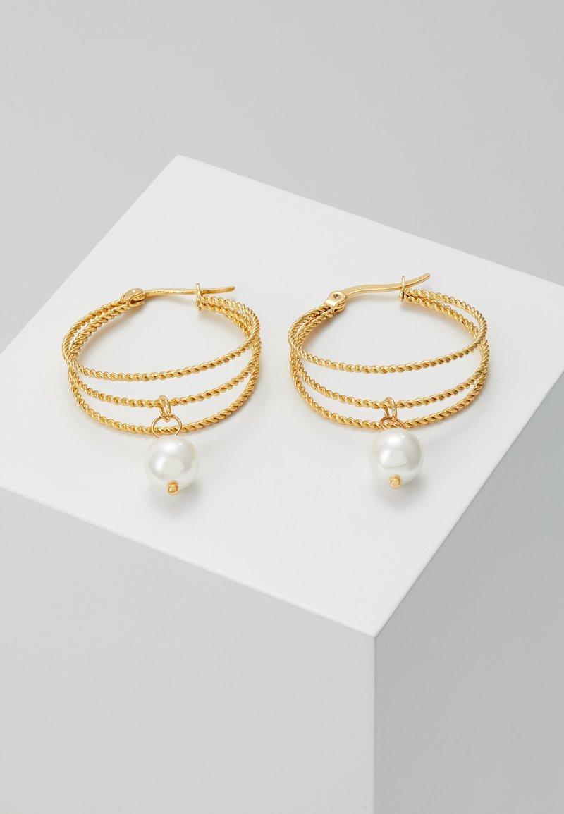 Leslii - Pendientes - gold-coloured