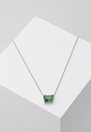 Naszyjnik - silver-coloured/green