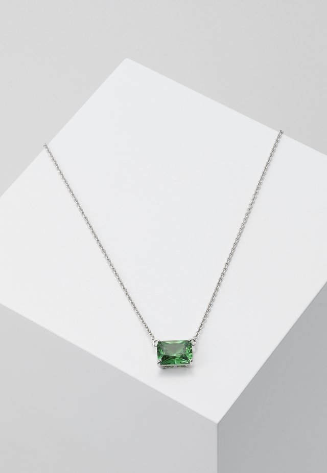 Collier - silver-coloured/green