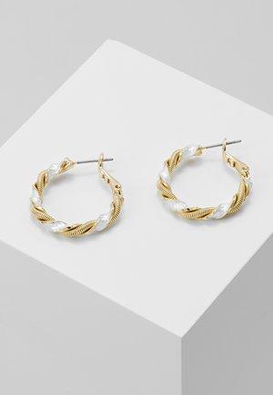 Earrings - gold/silver