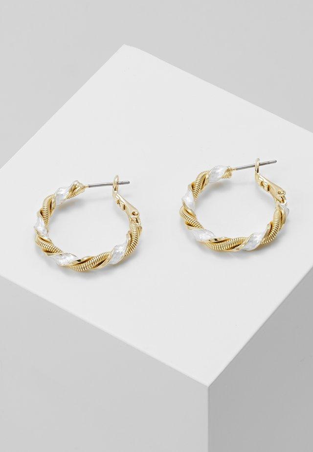 Náušnice - gold/silver
