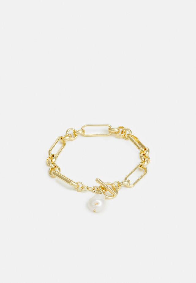 Armband - gold-coloured/white